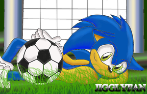 Soccer with Sonic by Wiqqles