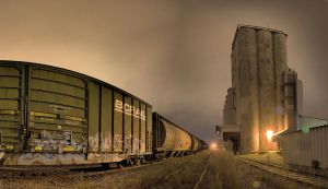 Grainery Yard Panorama by aRt2faKt