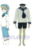 Hetalia N. Italy Sailor Suit Costume for Cosplay by meganpu