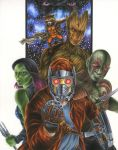 Guardians of the Galaxy by smlshin