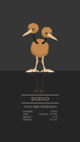 Doduo by WEAPONIX