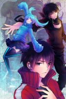 Mekaku city Actors by Ruriko-sama