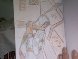 Assassins creed sketch by maximumride1995