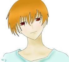 Kyo-kun:Second Coloring in SAI by linkroxsox