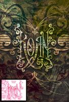 Korn - Ornate Collage by gomedia