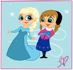 Frozen: Sisters by Cheliseville