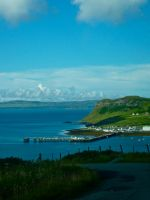 Uig Harbour view by gee231205