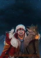 Contest entry: Balto-Winter has come + VIDEO by EmberWolfsArt