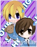 ::Haruhi AND Tamaki:: by WorldlyStar