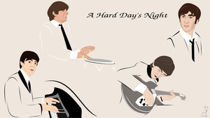 A Hard Day's Night by FoolEcho