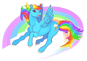 Rainbow Dash by Deericious