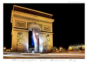 Arc de Triomphe - 001 by laurentroy