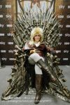 Jareth Goblin King Iron Throne by deFanel