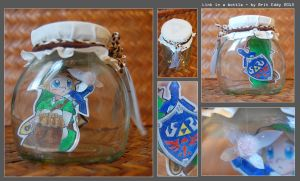 Link in a Bottle by briteddy