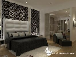 classic masterbedroom3 mrs. m by yoel-touch