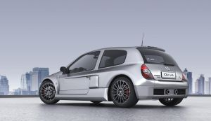 Renault Clio V6___render by NewmanBG