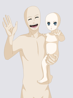 - Request -  Father and Child by Beyond-Birthday-666