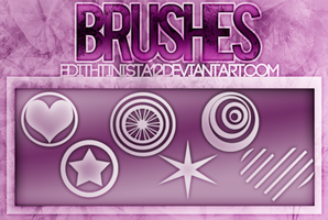 Brushes | The Heart Wants What It Wants ||| by EdithTinista12