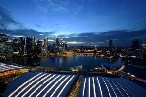 Postcard from Singapore 01 by JACAC