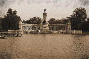 Retiro's Lake by Livor-Mortiis