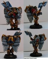 GW NMM Sanguinary Guard Model #1 by will-i-am119