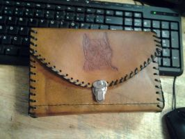 Leather Pit Bull Purse by howardhowitzer