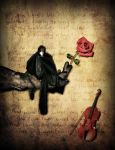 The Romantic Crow by crilleb50