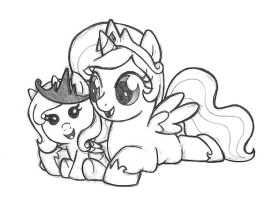 wee little princesses by alienfirst