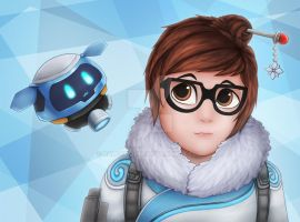 Overwatch - Mei by RaLFFyKung