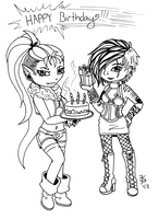 Happy birthday for MissMonster7 by death-g-reaper