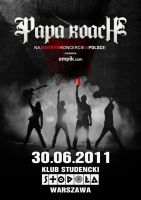 Papa Roach Contest Poster by radQ