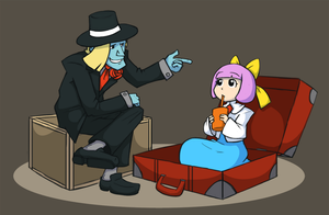 GT - a Dandy Kidnapper by raygirl