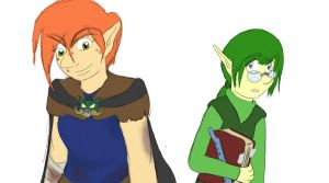 LoZ OoT Offspring by ToothandFang