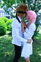narusaku a kiss to the bride by SenninUzumaki