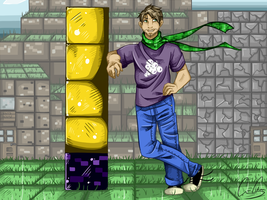 Gavin Free and the Tower of Pimps by TheCorChan