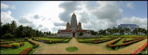 Pattaya temple by Jensfromsweden