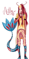 Milotic Gijinka by xhikkux