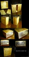 Decorative Wooden Box by WindoftheStars