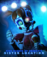 FNAF-SL: Circus Baby (Stylised) by EverythingAnimations