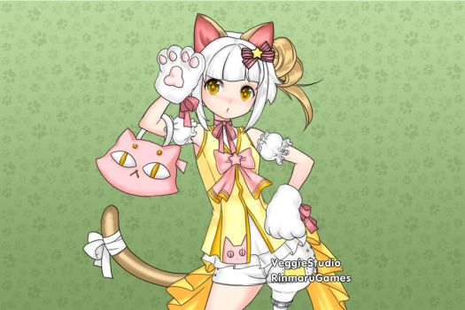 Kitty idol dress up game by Rinmaru