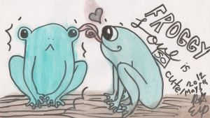 Frog Love by Alice-of-Spaids