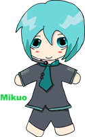 Mikuo Hatsune chibi colored by TheEternalManga