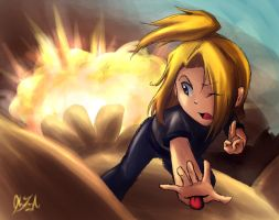 Deidara - Flight by cherlye