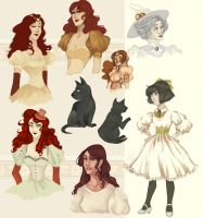 Oz characters 1 by hwilki65