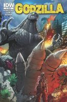 Godzilla issue 7 cover by KaijuSamurai