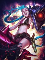 Jinx - ImagineFX Cover by alvinlee