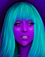 Lady Gaga by greendesire