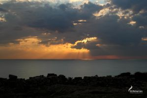 Sunset in Byblos III by ZeeGraphix