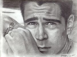 Colin Farrell by SketchySam