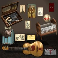 BioShock Infinite Props Pack 1A by ArmachamCorp